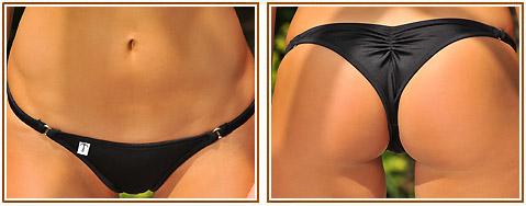 Brazilian Half Pucker Bikini